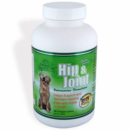 Nature's Organic Pet Hip and Joint Supplement for Dogs, 60 Tablets