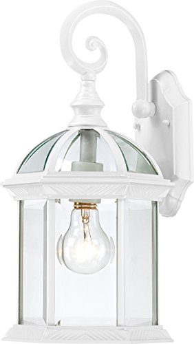 (Trans Globe Lighting 4181 WH Outdoor Wentworth 15.75