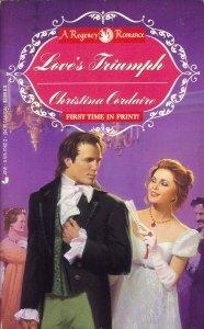 book cover of Love\'s Triumph