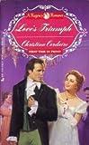 Love's Triumph, Christina Cordaire, 0515111023