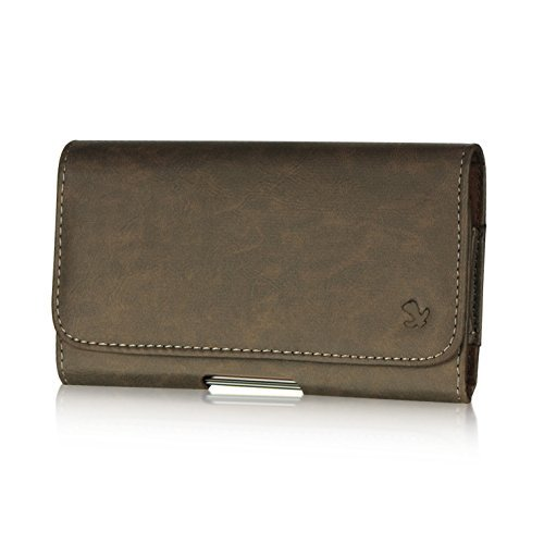 Suede Horizontal Carry Case - 5