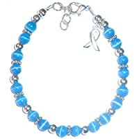 Hidden Hollow Beads Cancer Awareness Bracelet, for Showing Support or Fundraising...