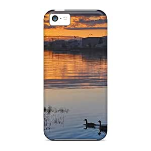 Fashion Dnl7107gzMG Cases Covers For Iphone 5c(towards The Sun)
