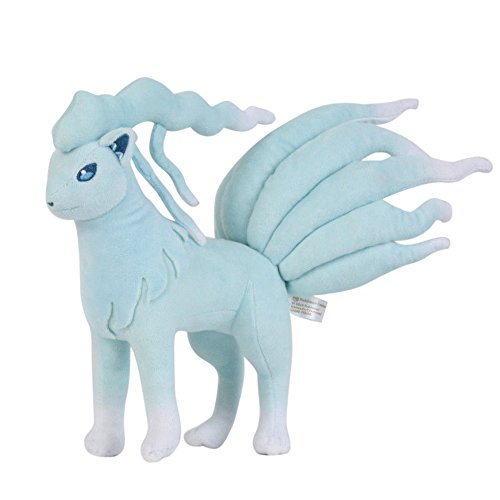 Cuddly-store Alola Ninetales Soft Stuffed Doll Plush Toy - 10 Inch