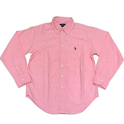 Ralph Lauren Button-Down Shirt Pink Boys (18)
