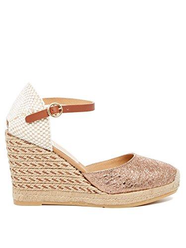 Kanna Damen Sandaletten Hellrosa