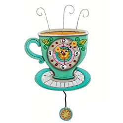 Allen Design Studios Sunny Cup Resin Wall Clock