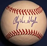 #9: Andy Van Slyke Signed Official Major League Baseball - Certified Autograph