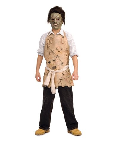 Boys' Texas Chainsaw Massacre Leatherface Apron Costume