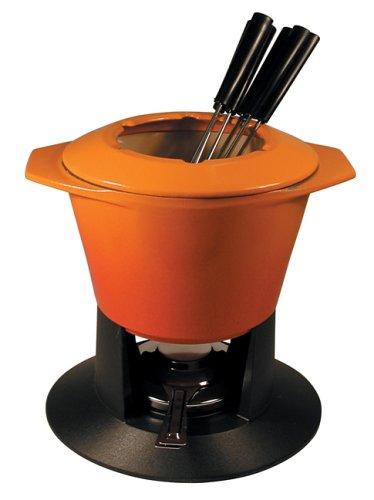Le Creuset Set fondue gourmand 1 3/4 qt Flame by Le Creuset