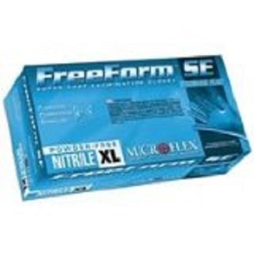 Freeform Cuff - Microflex FFS-700-M Freeform SE Powder-Free Examination Glove, 9.6