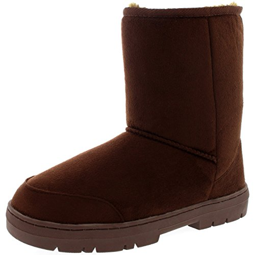 Classic Waterproof Boots Winter Brown Short Original Snow Womens Rain qFw4E7xAt