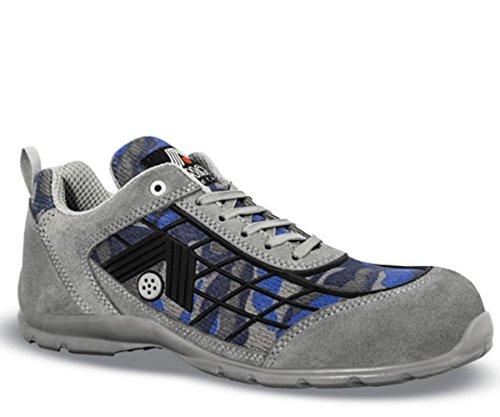 AIMONT de homme clair Chaussures pour ral sécurité gris gris 7035 ggO1q