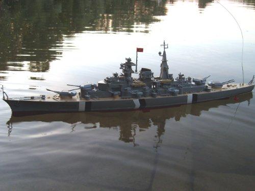 41N9NiZRb3L in RC Modellbau Kriegsschiff Bismarck