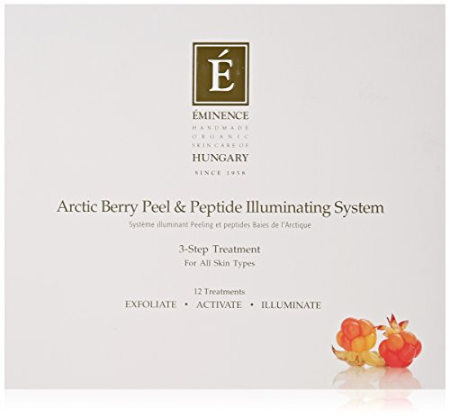 Eminence Arctic Berry Peel and Peptide Illuminating System, 1 Count (Brightening Skin System)