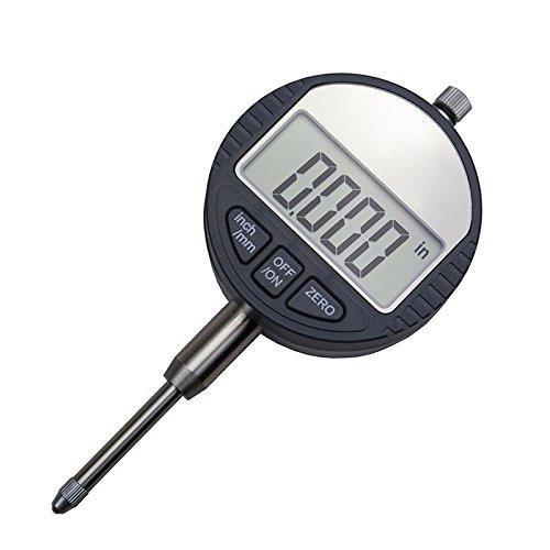 Lznlink Electronic Micrometer Digital Micrometro Metric/Inch Range 0-12.7mm/25.4mm Dial Indicator Gauge Measuring Tools