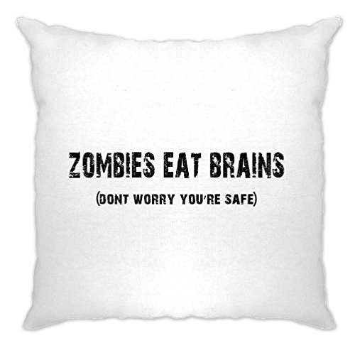 Tim And Ted Halloween Cushion Cover Zombies Eat