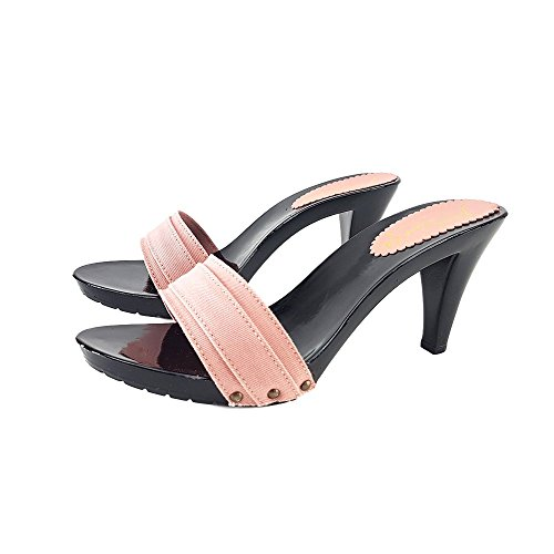kiara shoes Black Clogs Heel 9 -K6501 ROSA 6QoVCHPy