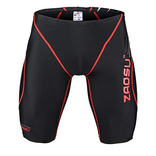 Nero Da black Concorrenza Z Pantaloni Nuoto rosso Zaosu 8w5TYW
