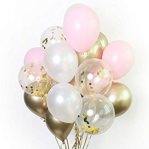 Pink Latex Balloons - 12