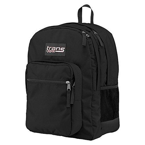 - New Trans SuperMax Laptop Backpack by JanSport Black