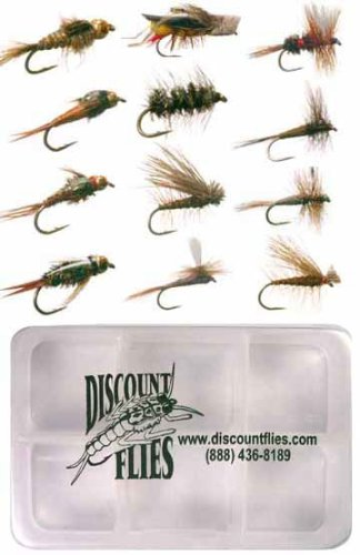 Trout Flies + Fly Box ()