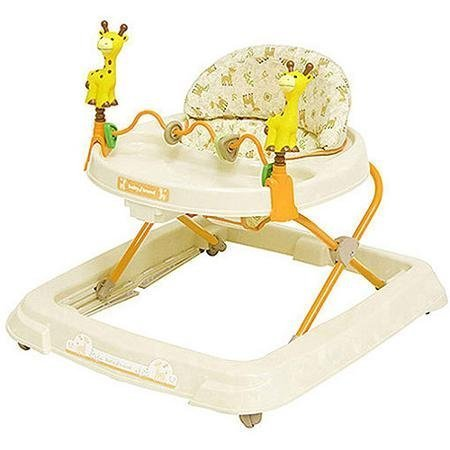 Baby Trend - Baby Activity Walker with Toys, Kiku with High-back Padded Seat