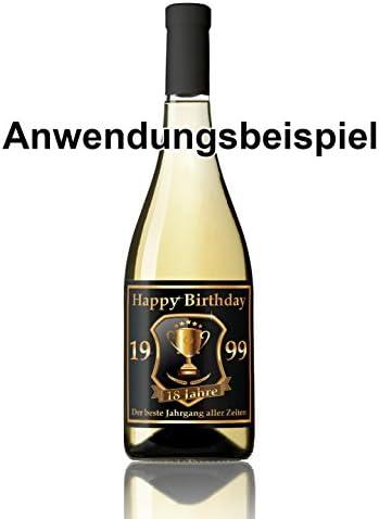 RAHMENLOS 3 St. Aufkleber Original Design: Selbstklebendes Flaschen-Etikett zum 50. Geburtstag: Mitglied im Club der Alten Wilden
