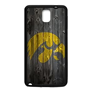Zyhome Galaxy Note 3 Classic Iowa Hawkeyes Wood Decal Case Cover for Samsung Galaxy Note 3 (Laser Technology)