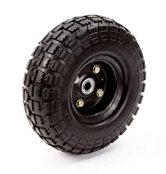 Farm & Ranch Fr1030 10-inch No-flat Replacement Turf Tire For Hand Trucks & Utility Carts