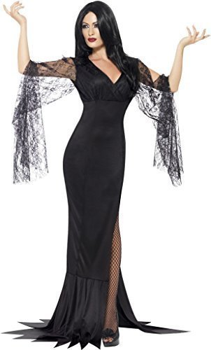 Smiffy's Women's Immortal Soul Vampire Halloween Costume Large (UK 16-18) Black