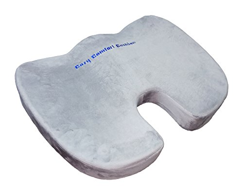 Cozy Comfort Cushion   Orthopedic Memory Foam Seat For Coccyx  Lower Back   Sciatica Pain  Achy Painful Body Parts  Get Relief   Cozys The Answer