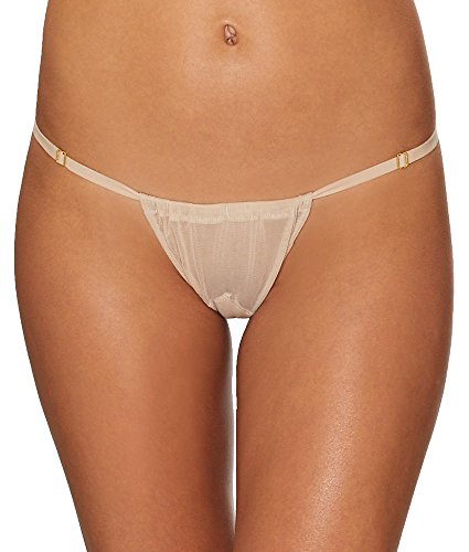 Hot As Hell Adjustable G-String, One Size, Nude Beach