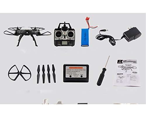 H899 2.4G 4CH 6 Axis Gyro RC Quadcopter Helicopter 360 Degree Eversion Headless Mode One Key Return 5.0MP Camera - Black