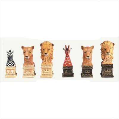 Lion Chessmen