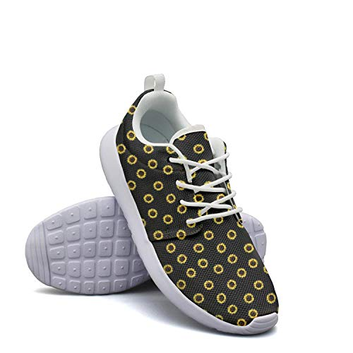 Fashion Lady Lightweight Mesh Shoes I Love Yellow Daisy for sale  Delivered anywhere in USA