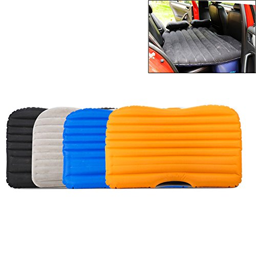 Oxfoard Fabric Car Back Seat Extended Mattress Inflatable Car Travel Camping AirBed