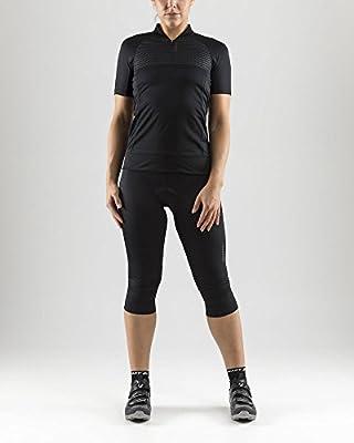 Craft Sportswear Womens Rise Bike and Cycling Training 1//4 Zip Short Sleeve Jersey