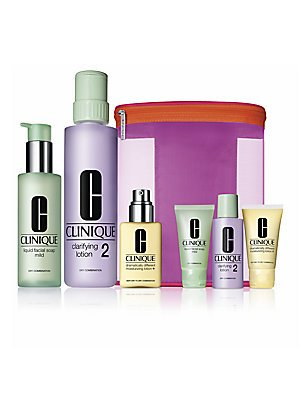 Clinique 'Great Skin Home & Away' Set for Dry/Combination Skin by Clinique