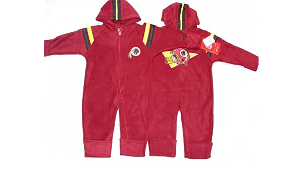 Amazon.com   Washington Redskins NFL Reebok Baby Fleece Coverall (Size 24  Months)   Sports Related Merchandise   Sports   Outdoors f615f5df6