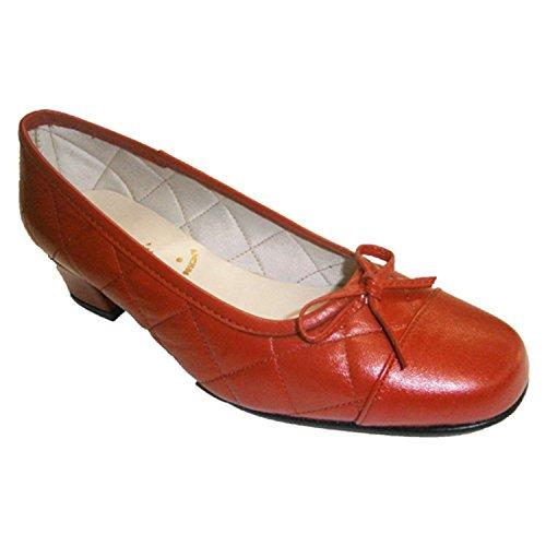 Chaussure Manoletina Talon Arc Rouge En Type Et Bas Avec Roldan qWwCxgEnZx