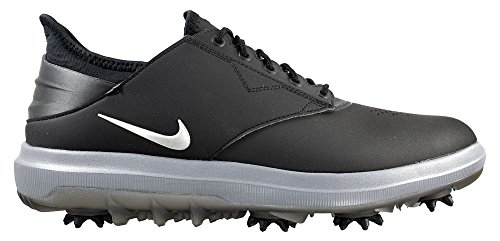 Pictures of Nike Golf- Air Zoom Direct Shoes Black/Metallic Silver 1