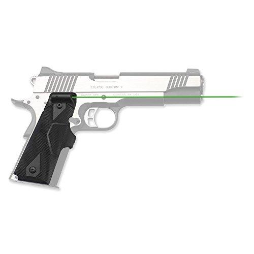 Crimson Trace LG-401G Lasergrips Green Laser Sight Grips for 1911 Full-Size Pistols