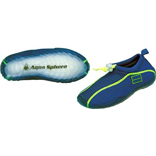 Aquatics Kinder Strandschuh Lisbona junior, blau/lime