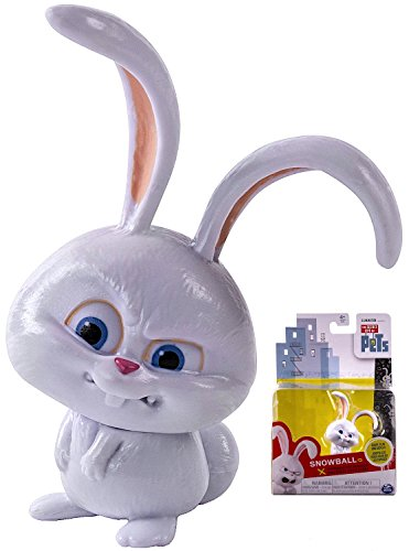 "Snowball the Bunny from Illumination Movie Secret Life of Pets 3"" Figure"
