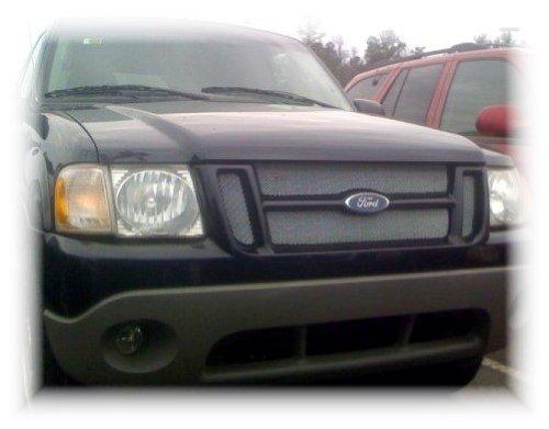 Ford Explorer Sport Trac Chrome Mesh Grille Overlay Kit 01 02 03 04 05 06 - 01 02 Ford Explorer Grille