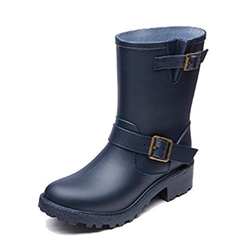 de goma Botas botas lluvia moda Zapatos NAN de primavera de de lluvia agua mujer de de de caucho de y tubo verano Botas de adulto 04 zapatos Color Tamaño 05 goma de femenino mujer Botas Botas de Z0wXxwp