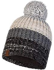 Buff Unisex Alina Chunky Knit Outdoor Walking Winter Warm Beanie Bobble Hat
