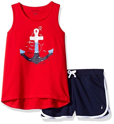 Nautica Girls Graphic Fashion Short
