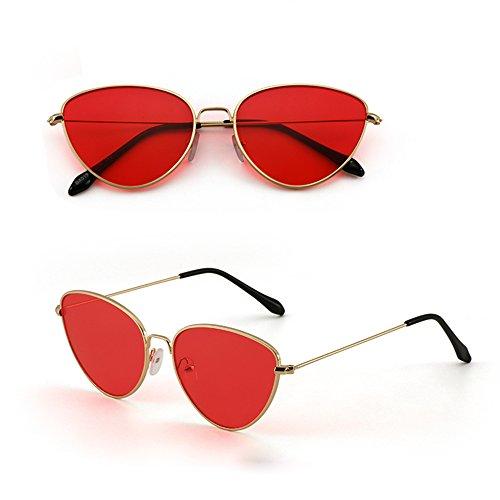 UV TESITE Et PolariséEs Protection De Femmes De Hommes Lunettes pour Soleil 100 Lunettes Rouge f6f7Hq
